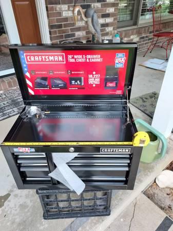 Photo New Craftsman 3 Drawer Toolbox - $99 (Brooklyn)