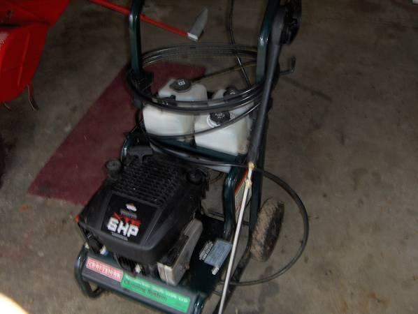 Pressure Washer 6hp Craftsman 2000 Psi 135 Concord Mi Garden Items For Sale Jackson Mi Shoppok