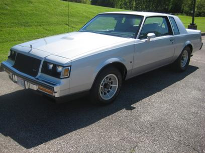 Photo Used 1987 Buick Regal T-Type Coupe for sale