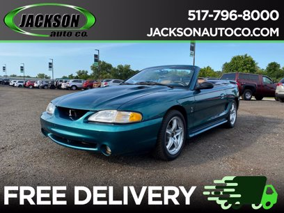 Photo Used 1997 Ford Mustang Cobra Convertible for sale