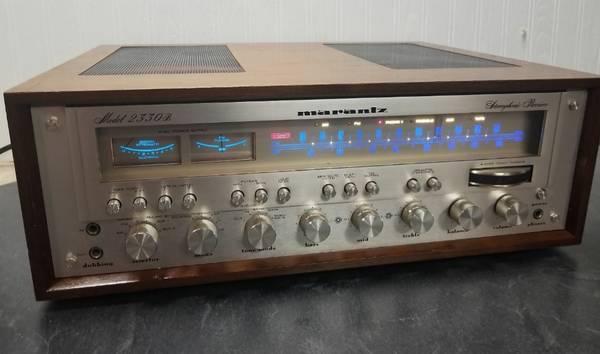 Photo Vintage Marantz 2330b Stereo Reciever Rebuilt Fully Restored - $1,800 (PITTSFORD)