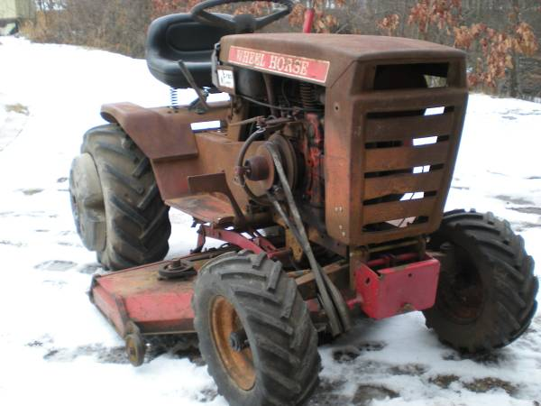 Photo WHEEL HORSE - $600 (Rives Junction)