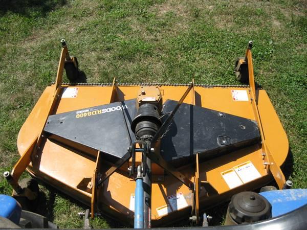 Photo Woods 7ft finish mower - $2,200 (Addison)