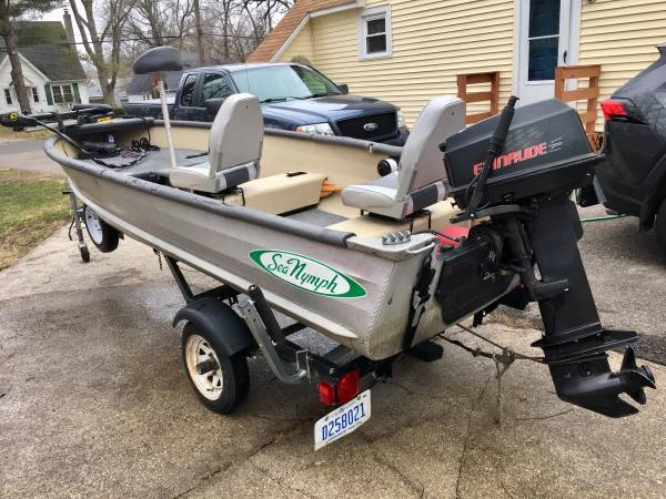 Photo 14 FT Modified Sea Nymph - Great Fishing Boat - $2900 (Kalamazoo)