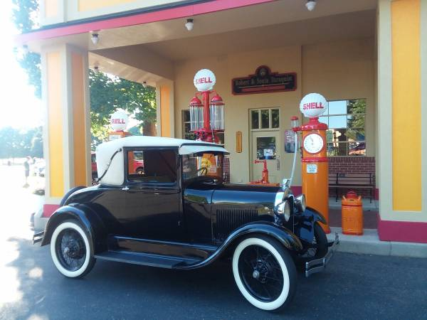 Photo 1928 Ford Model A Sport Coupe - $15,000 (Hickory Corners)