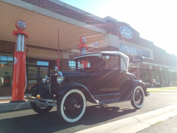 Photo 1928 Ford Model A Sport Coupe - $15,900 (Hickory Corners)