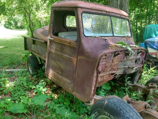 Photo 1947 Willys Jeep Truck - $1,950 (Delton)