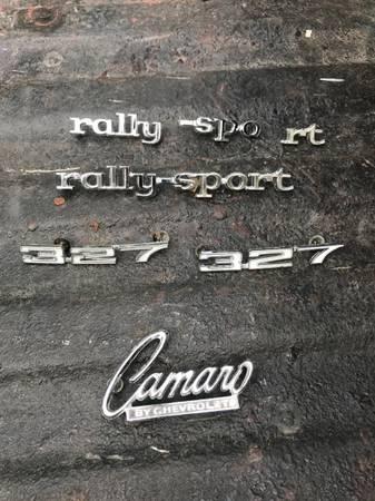 Photo 1968 CAMARO RS PARTS - $1,234 (kalamazoo)