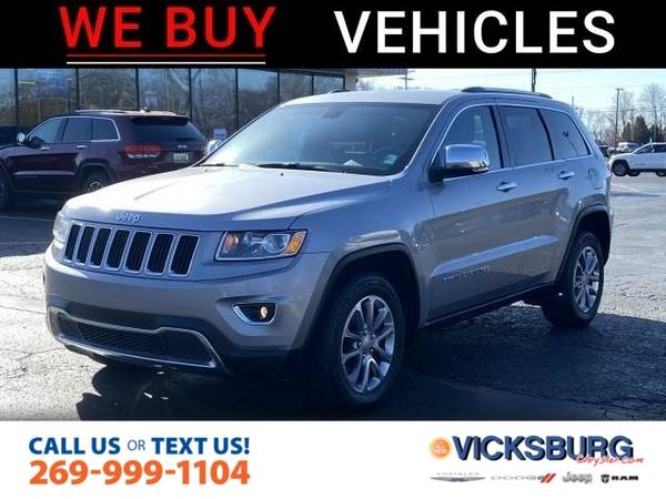 Photo 2015 Jeep Grand Cherokee Limited - $20,475