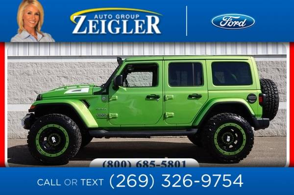 Photo 2019 Jeep Wrangler Unlimited Unlimited Sahara - $44500 (_Jeep_ _Wrangler Unlimited_ _SUV_)