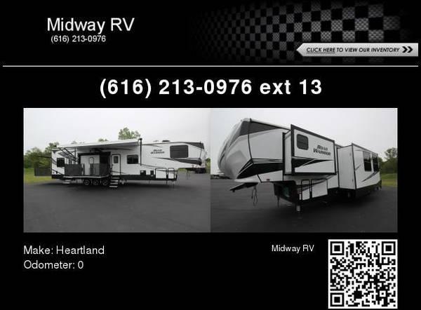 Photo 2020 Heartland Road Warrior 4275 - $74,990 (Grand Rapids, MI)