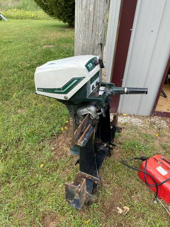 Photo 7.5 HP Ted Williams outboard motor - $750 (Sturgis)