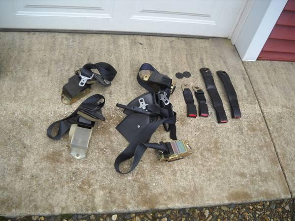 Photo 82-92 Firebird black interior door panels plastic Camaro Z28 - $1 (PawPaw)