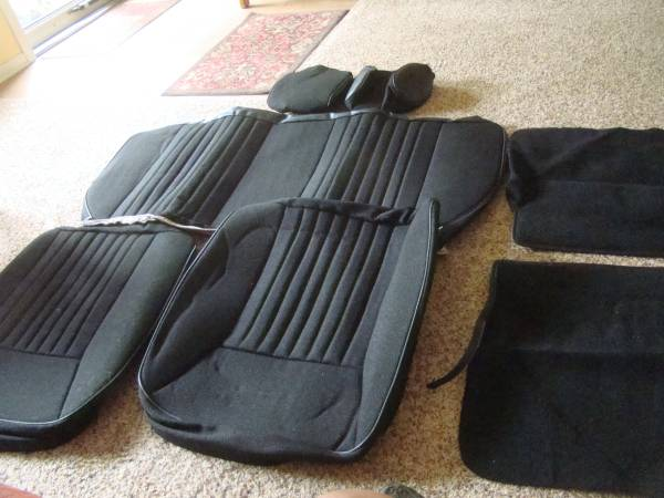 Photo BRAND NEW in box 1988-93 Mustang GT upholstery - $75 (Portage)