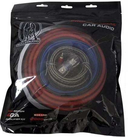 Photo Bullz Audio 8-Gauge Ga Awg Complete Car Amp Installation Kit - $25 (three rivers mi)