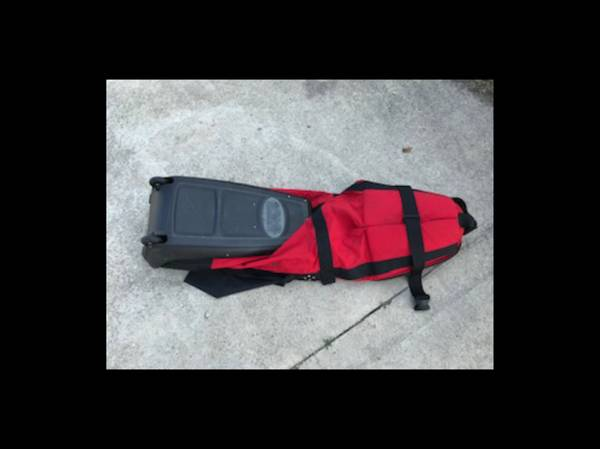Photo Club Glove Golf PGA Style Travel Bag Carrier with Wheels - $180 (Portage)