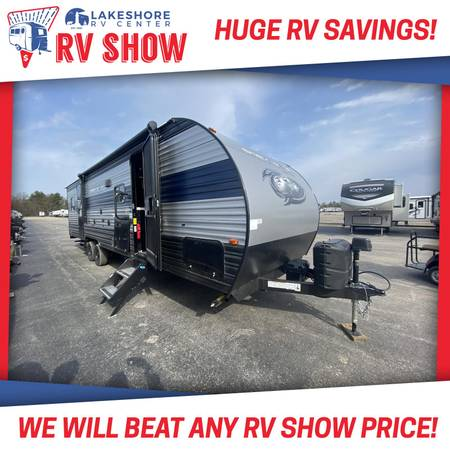 Photo FOREST RIVER GREY WOLF 27RR TOY HAULER TRAVEL TRAILER RV LAST ONE LEFT - $29,899