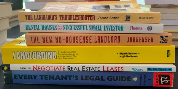 Photo FREE 6 Books on How to be a Successful Landlord (Kalamazoo)