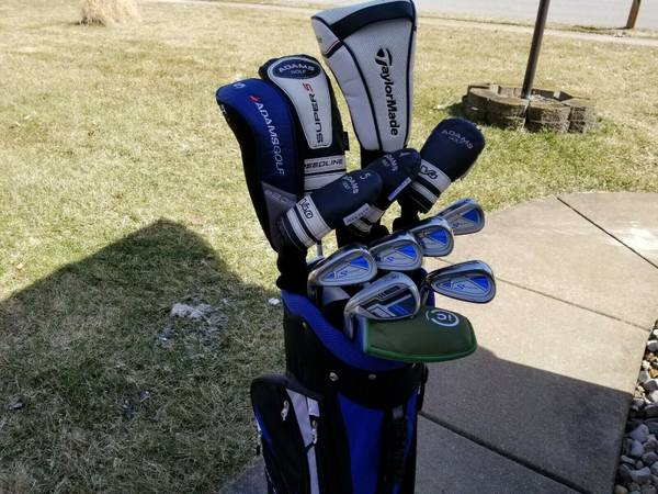 Full Set Of High End Left Handed Taylormade Adams Reg Flex Golf Clubs 625 Michiana Sports Goods For Sale Kalamazoo Mi Shoppok