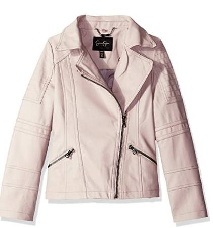 Photo Jessica Simpson moto fashion jacket - $15 (Portage)
