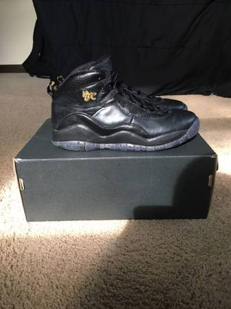 Photo Jordan Retro 10 NYC BG - $40 (Kalamazoo)
