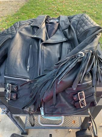 Photo Mens Harley Davidson jacket - $100 (Lawton mi)