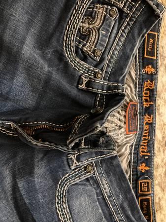 Photo Rock Revival Jeans, 29quot x 35quot - $20 (PORTAGE)