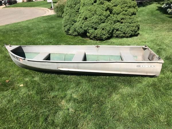 Photo Sears 1239 Aluminum Row Boat - $200 (Portage)