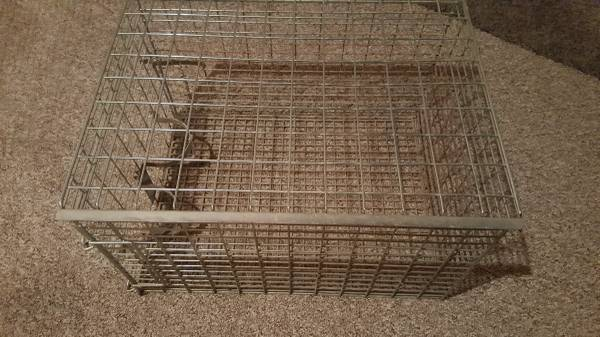 Photo Small animal cage crate - $15 (Gull Lake)