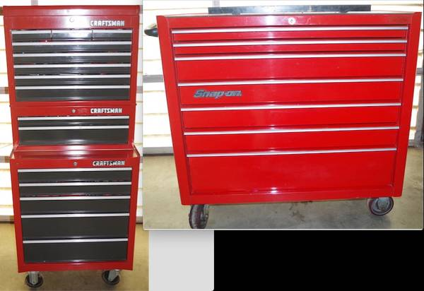 Photo Snap On  Craftsman tool boxes - $900450 (Three Rivers)