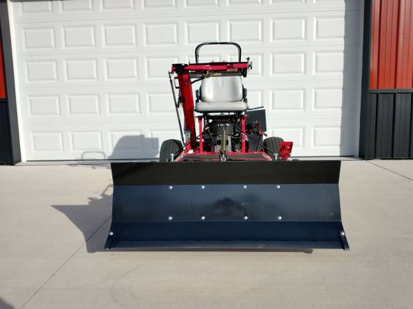 Photo Snow Plow Lawn Mower - $2,950 (Delton)