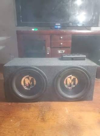 Photo Subs for car - $800 (Hickory Corners)