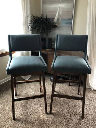 Photo Two Bar Stools - $75 (Hickory Corners)