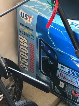 Photo UST 3500 Watt Generator - $250 (Portage)