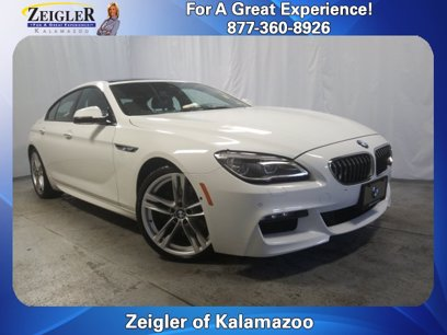 Photo Used 2017 BMW 640i Gran Coupe xDrive  for sale