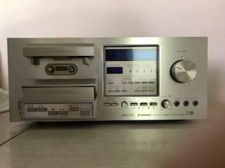 Photo Vintage Pioneer Stereo Cassette Tape Deck - $75 (Oshtemo)