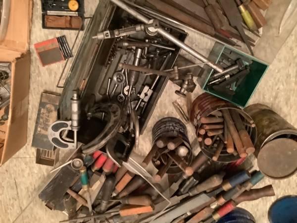 Photo Vintage machinist tools - $1,500 (Plainwell)