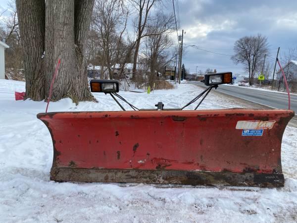 Photo Western Unimount snow plow - $2,000 (Kalamazoo)