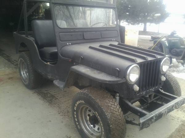 Photo 1953 WILLYS JEEP - $300 (Blackfoot)