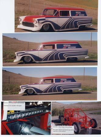 Photo 1955 Chevy Sedan Delivery - $35000 (Whitefish)