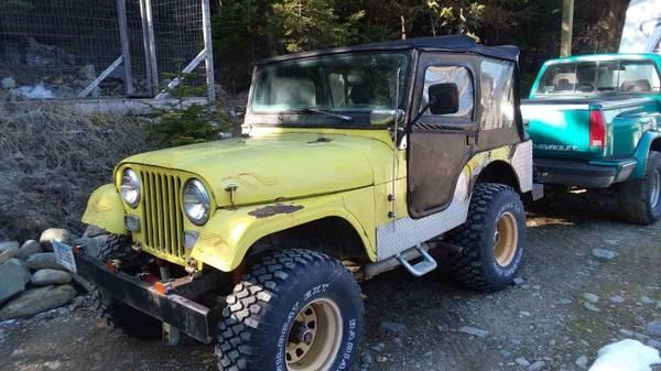 Photo 1965 CJ5 Jeep for sale - $2500 (Troy)