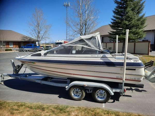Photo 1986 Bayliner Fishing Boat  Continental Trailer - $5,850 (KALISPELL)