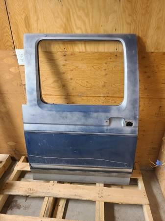 Photo 1992-97 f350 rear drivers door. - $75 (Kalispell)