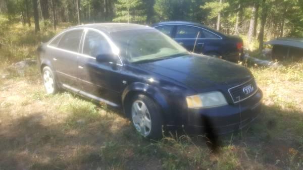 Photo 2002 Audi A6 - $1,100 (Troy, MT)