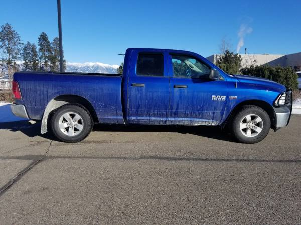Photo 2014 Dodge Ram Quad Cab4-Wheel DriveWith only 97,301 Miles - $19,989 (Kalispell)