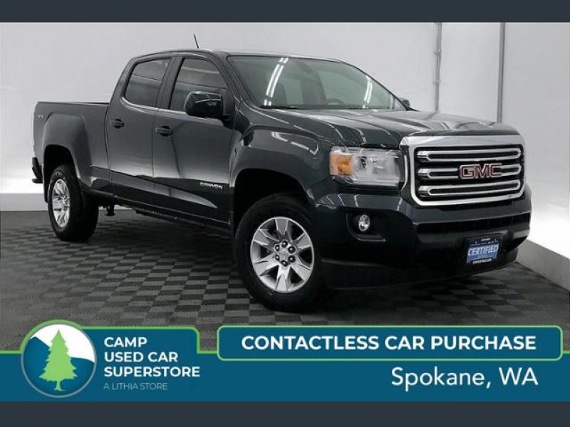 Photo Certified 2017 GMC Canyon 4x4 Crew Cab SLE for sale