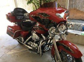 Photo Custom Harley Davidson, Road King - $12,500 (Eureka, MT)