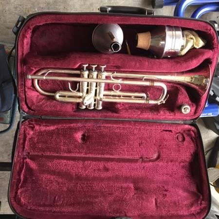 Photo F Besson Silver Trumpet - $350 (Whitefish MT)
