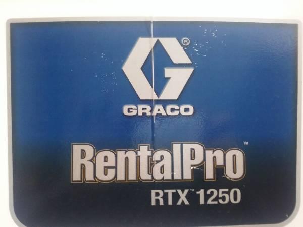 Photo GRACO RTX-1250 Texture Machine - $1,000 (Condon)