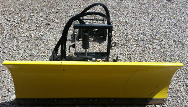 Photo John Deere Quick Hitch 54quot Front Blade Assembly Fully Hydraulic - $1,700 (Kalispell, MT)